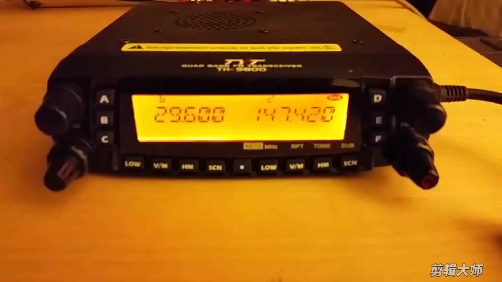 TYT TH-9800 Rádio Quad Band Talkie Walki 100 km cb 27mhz