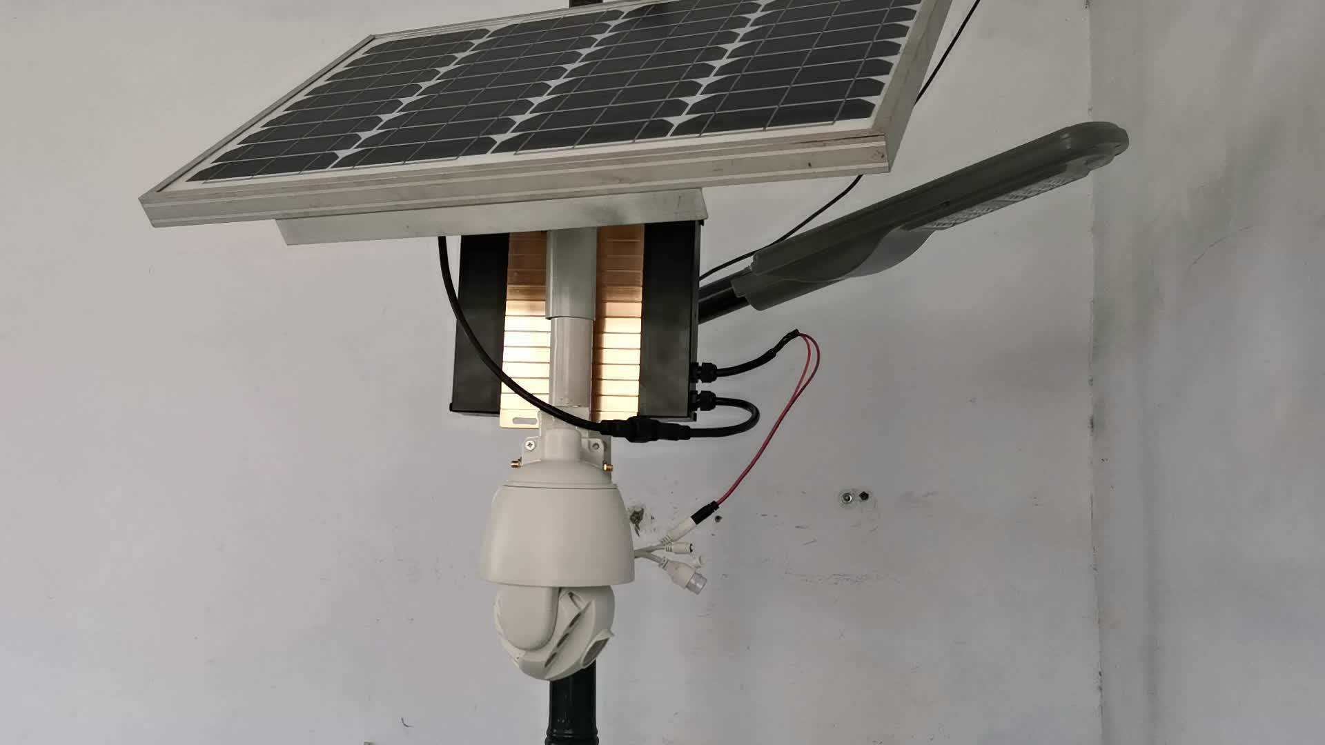 IP67 açık güneş enerjili kablosuz ip 3g 4g wifi güvenlik kamerası yer hiçbir ağ ve hiçbir güç