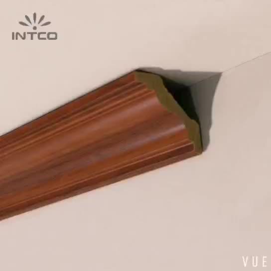 Intco新しい到着防水プラスチック装飾コーニス天井モールディング