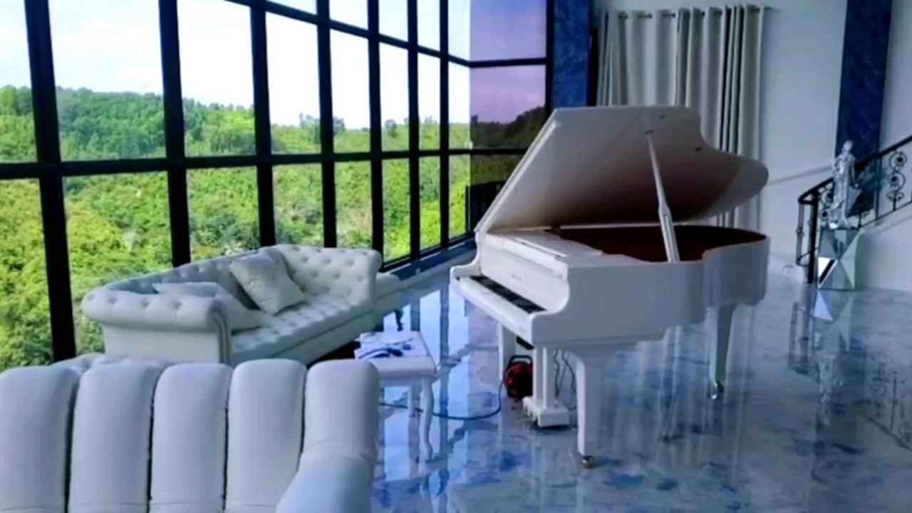 Factory Outlet New 6 Feet Sâu 88 Phím Trắng Kỹ Thuật Số Grand Tự Chơi Piano