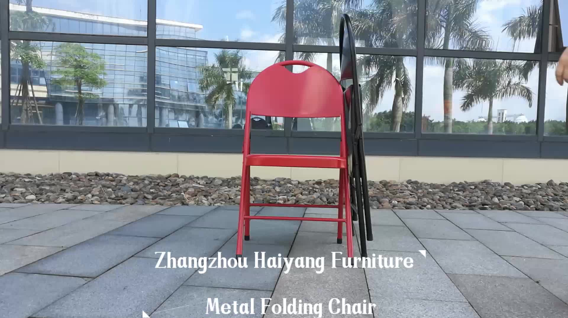 Günstige Metall Folding Partei Stühle für Verkauf