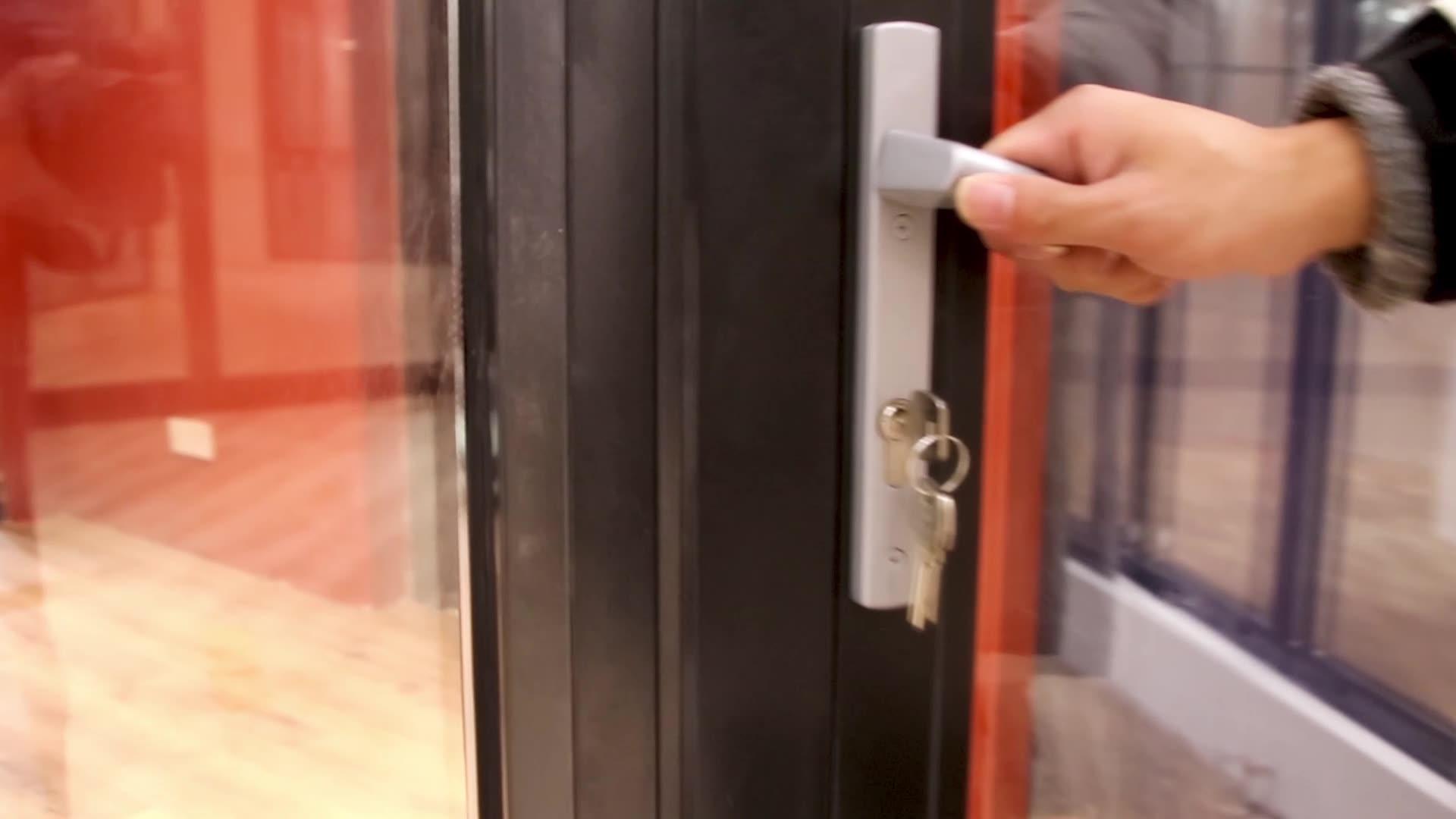 Коммерческая алюминиевая створка открывающаяся дверь немецкая фурнитура аксессуары двери окна створка