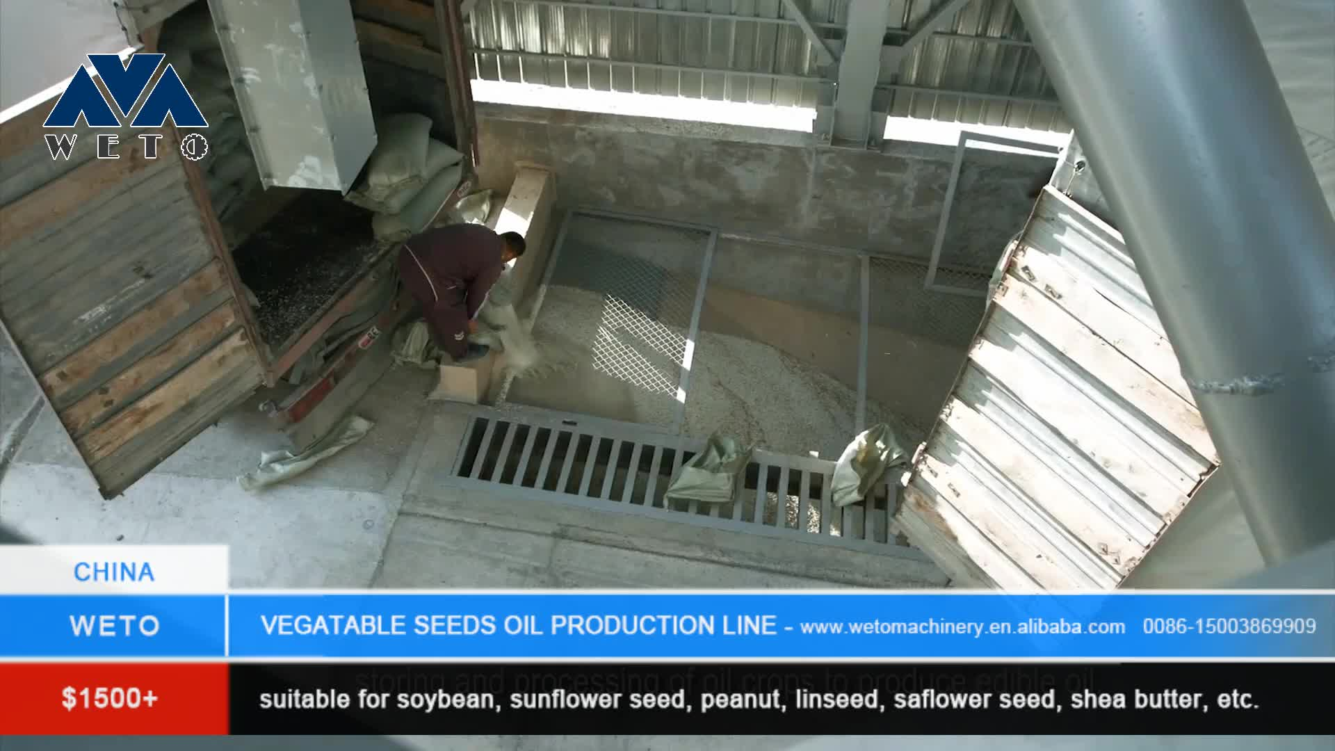 Newly palm oil processing plant sunflower cooking oil making machine