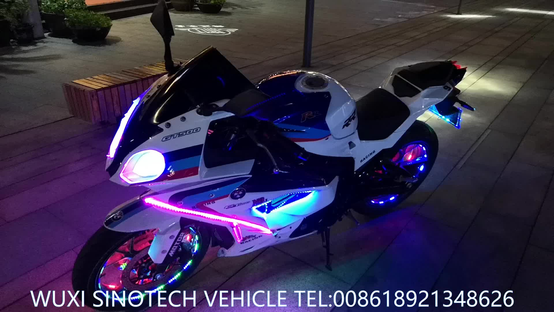 China 200CC Sport Motorcycle, New design racing motorcycle, stronger shock absorbers and big type