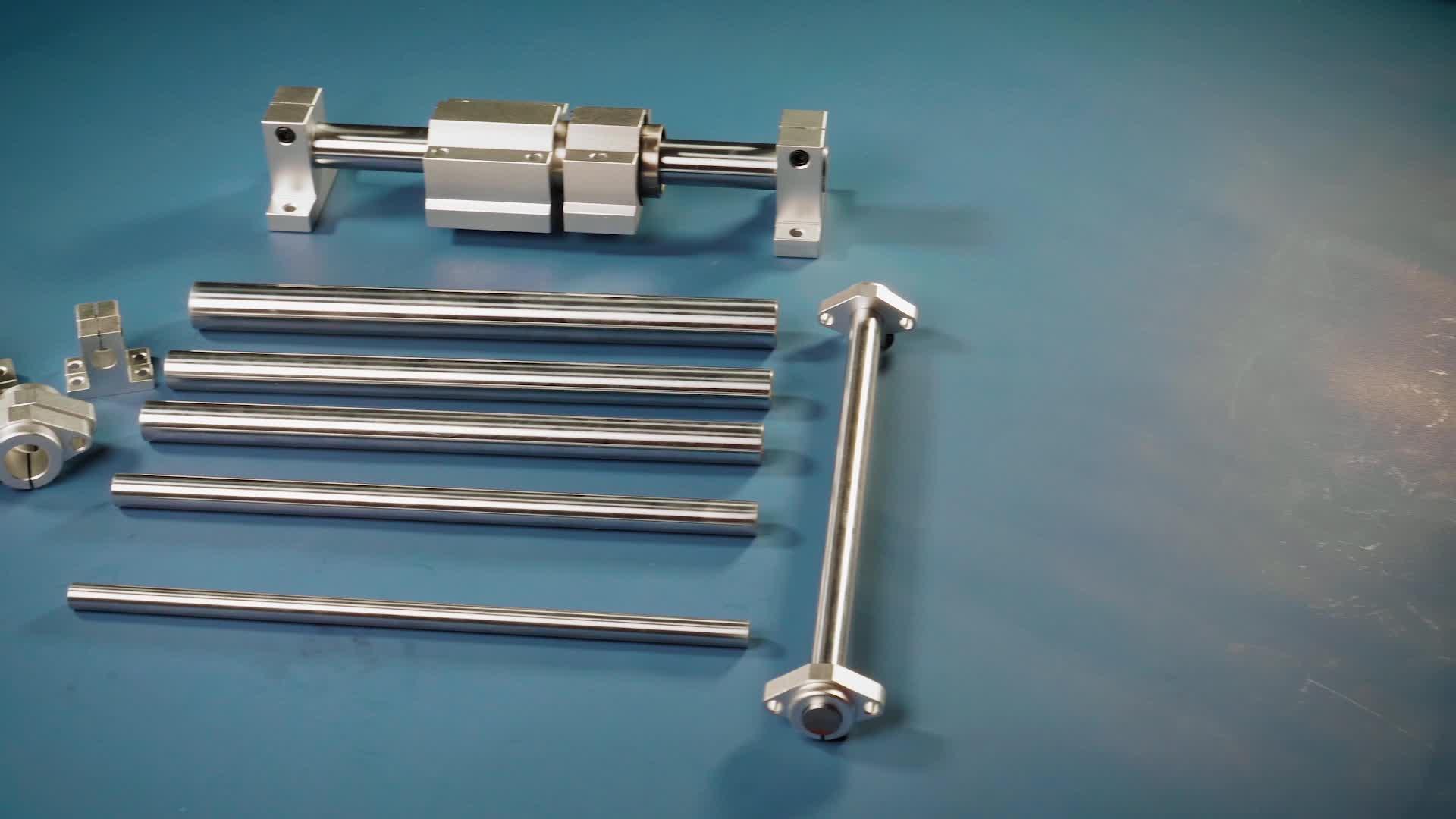 Arbre d'entraînement en acier inoxydable de précision pour débroussailleuse WC8