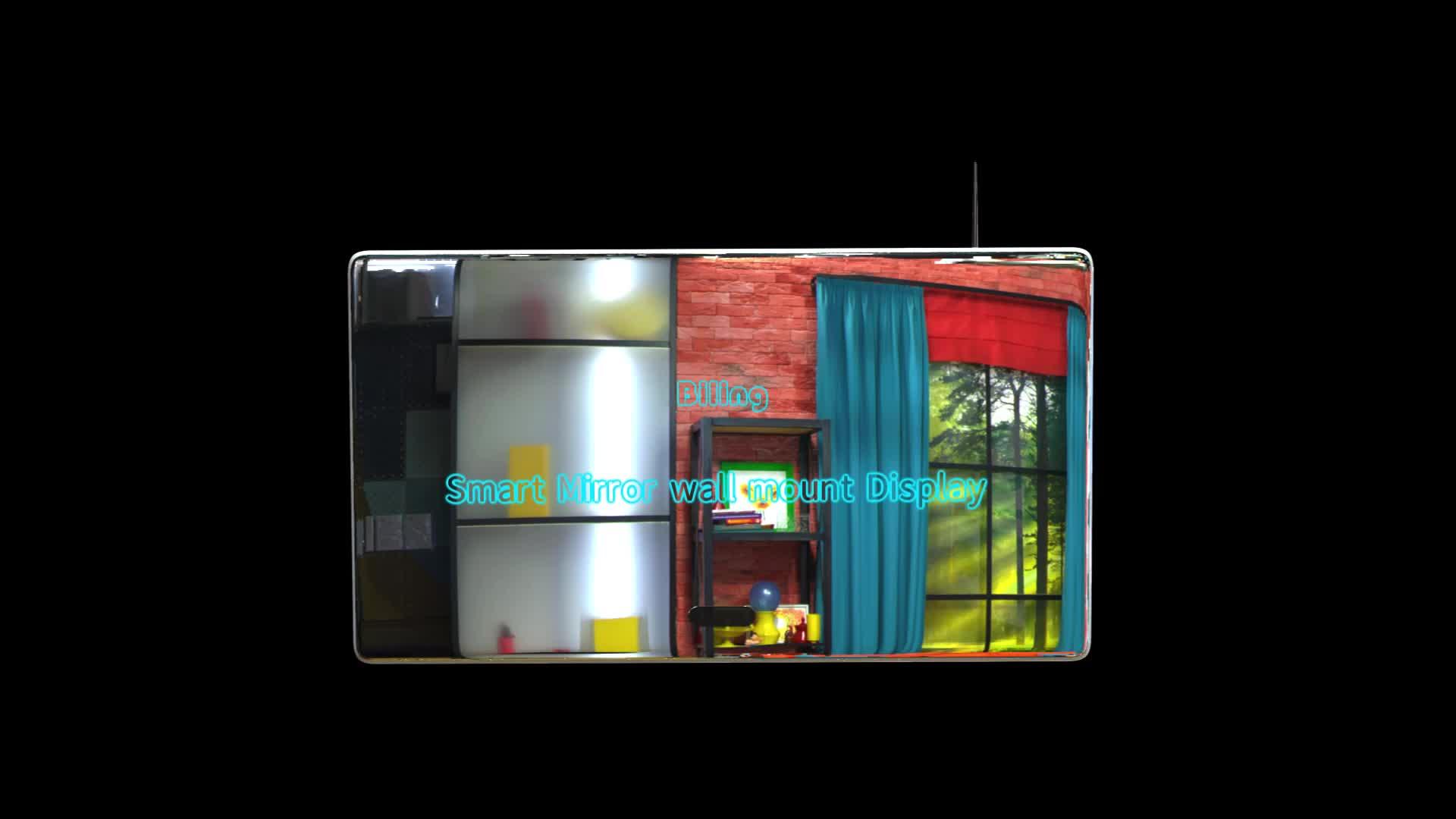 Di alta Qualità 8gb Tv 4k 32 Pollici Dell'automobile Dello Schermo di Tocco Bagno Intelligente Specchio Magico