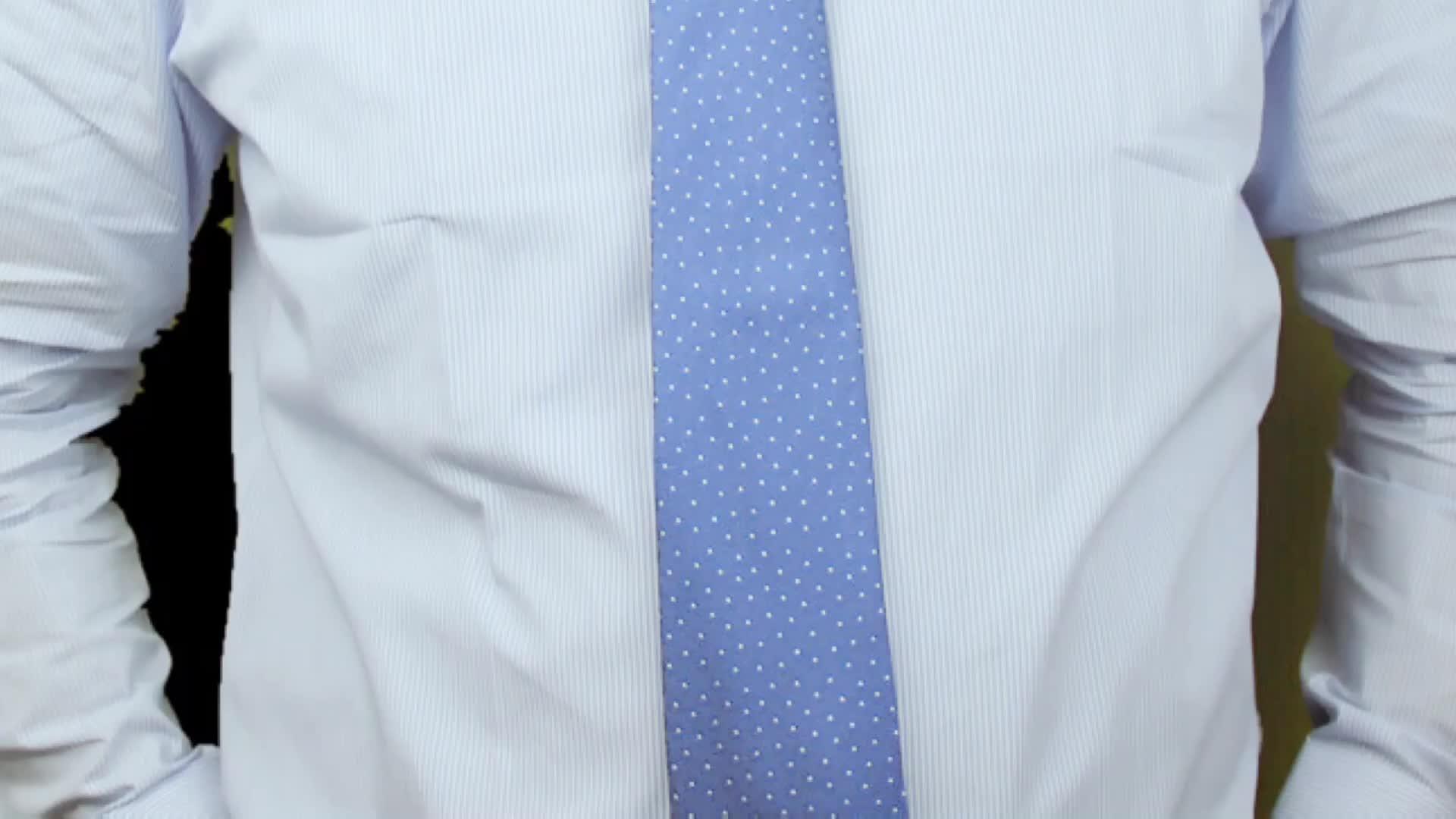 純粋な白 120's クラシックフィットピン襟メンズシャツ