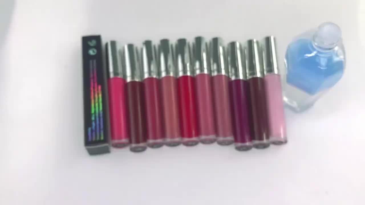 ODM OEM private label Neutral 15 color  shiny glossy glitter oil lip glaze  transparent lip gloss