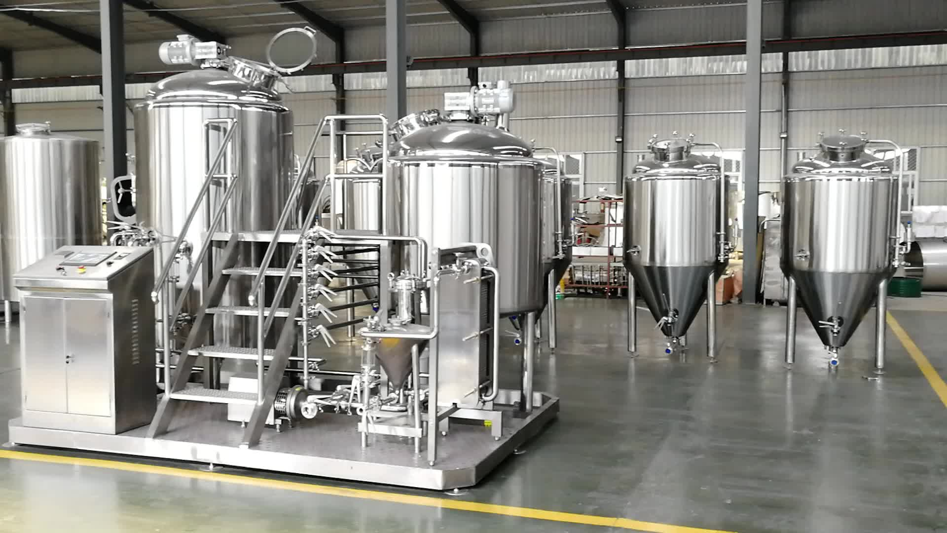 1000L wholesale craft beer brewing supplies