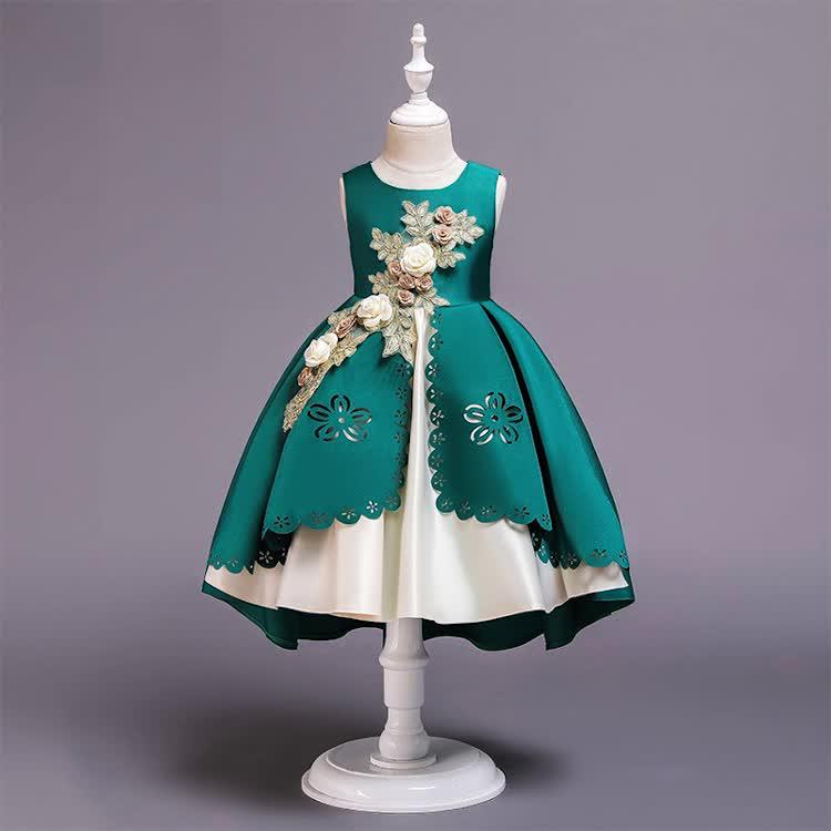 ขายส่งเสื้อผ้าสาวฤดูร้อนเด็กแฟนซี Frock Design เด็กปาร์ตี้ชุดเจ้าหญิงชุด