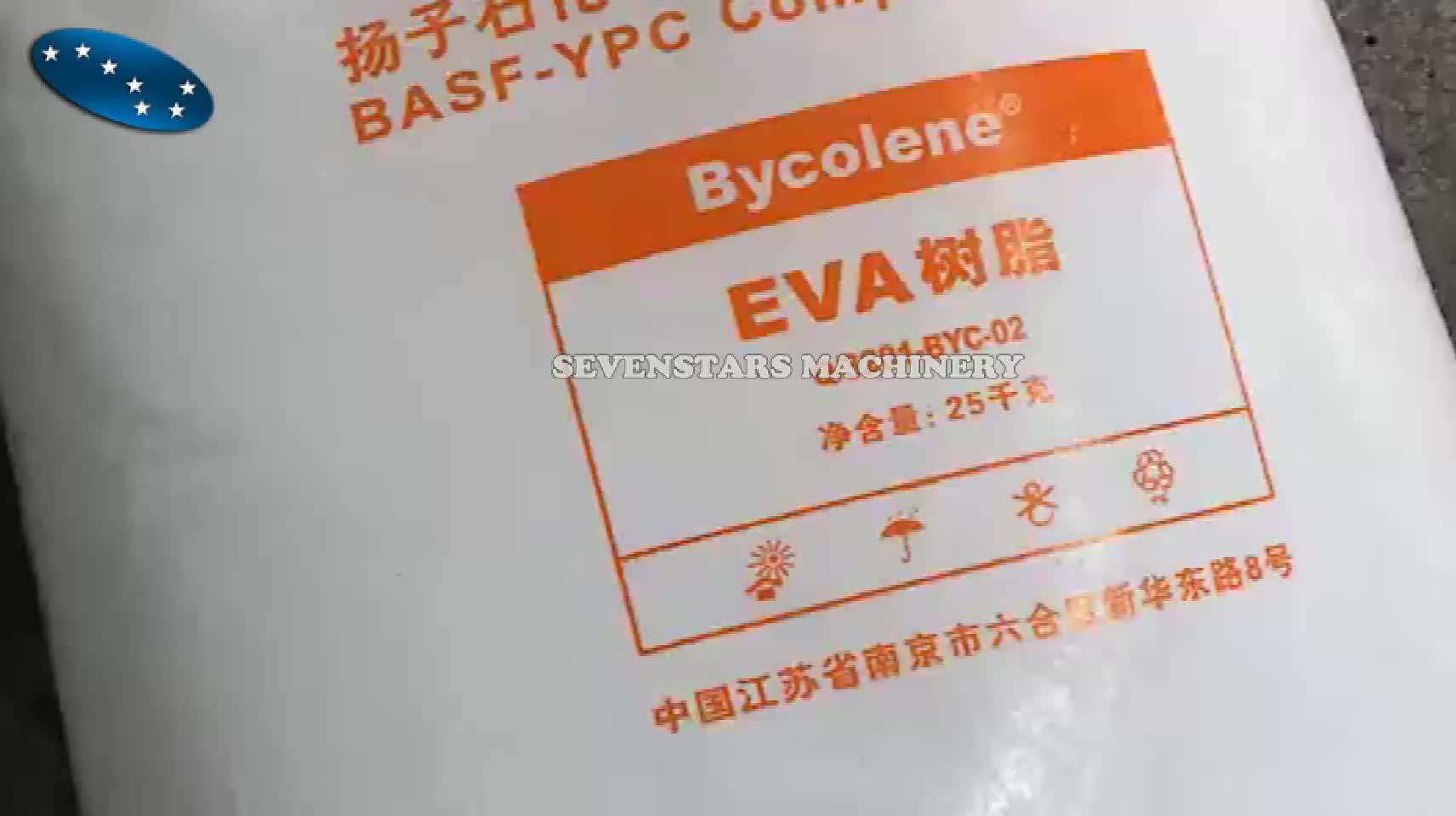 PVC EVA plastic scrap grinder grinding machine rubber pulverizer