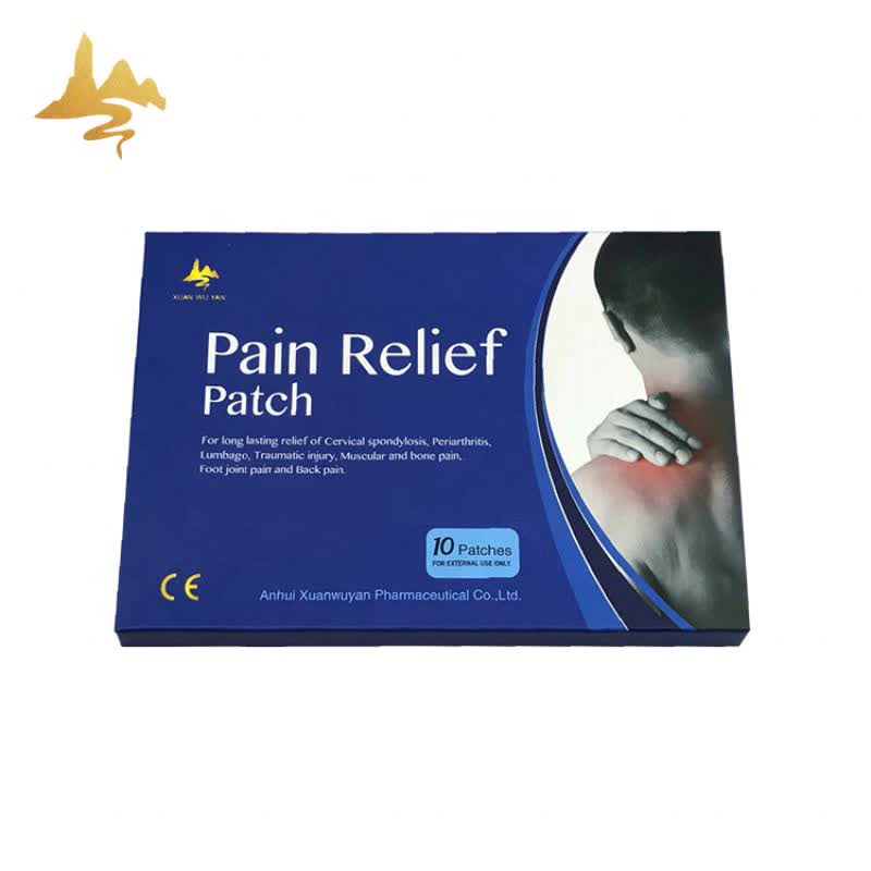 Good Price Health Care Products Herbal Plaster Neck Joint Back Pain Relieving Patch