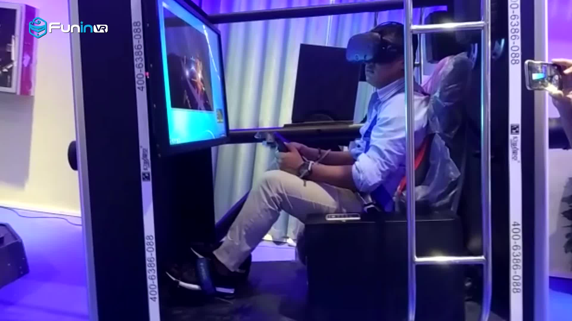720 degree flight simulator,real flying game and driving game machine