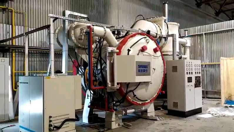 SIMUWU vacuum brazing furnace for copper stainless steel