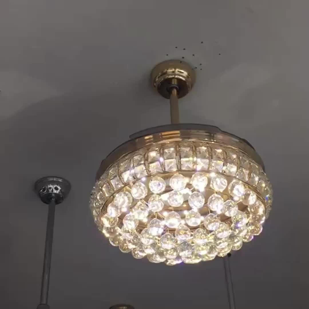Прямая продажа с фабрики гостиная ресторан спальня серебро LED вентилятор огни современный минималистский люстра потолочный вентилятор свет