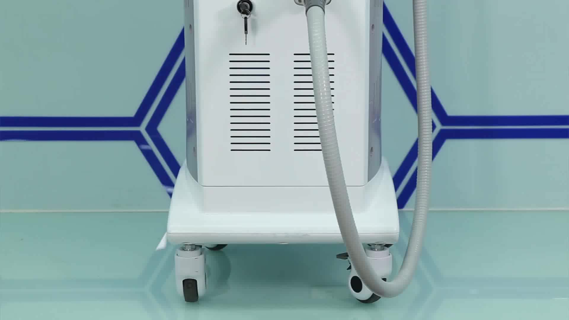 FDA approved 1064nm 808 755 diode laser hair removal laser hair removal machine alma soprano handpiece ice