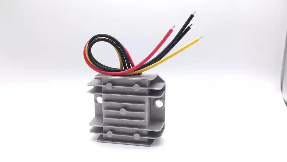 Hot-sale car voltage buck module step down transformer 10A 120W dc dc 24v to 12v converter