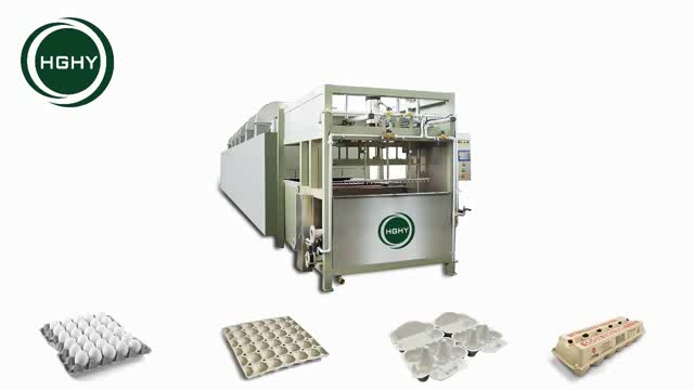 High Quality Reciprocating Paper Egg Tray / Carton Manufacturing Machine