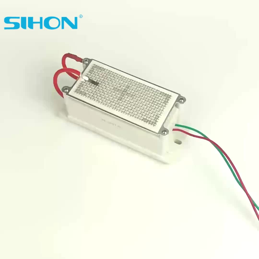 Sihon New 5g/h Stainless Steel Mesh Ozone Plate with Circuit for Ozone Generator