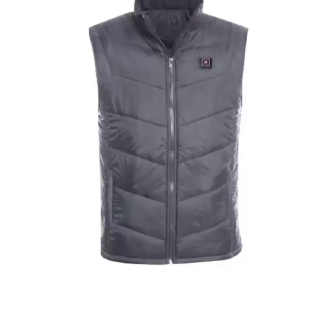 High Quality Outdoor Sports Waterproof Heating Vest for Men