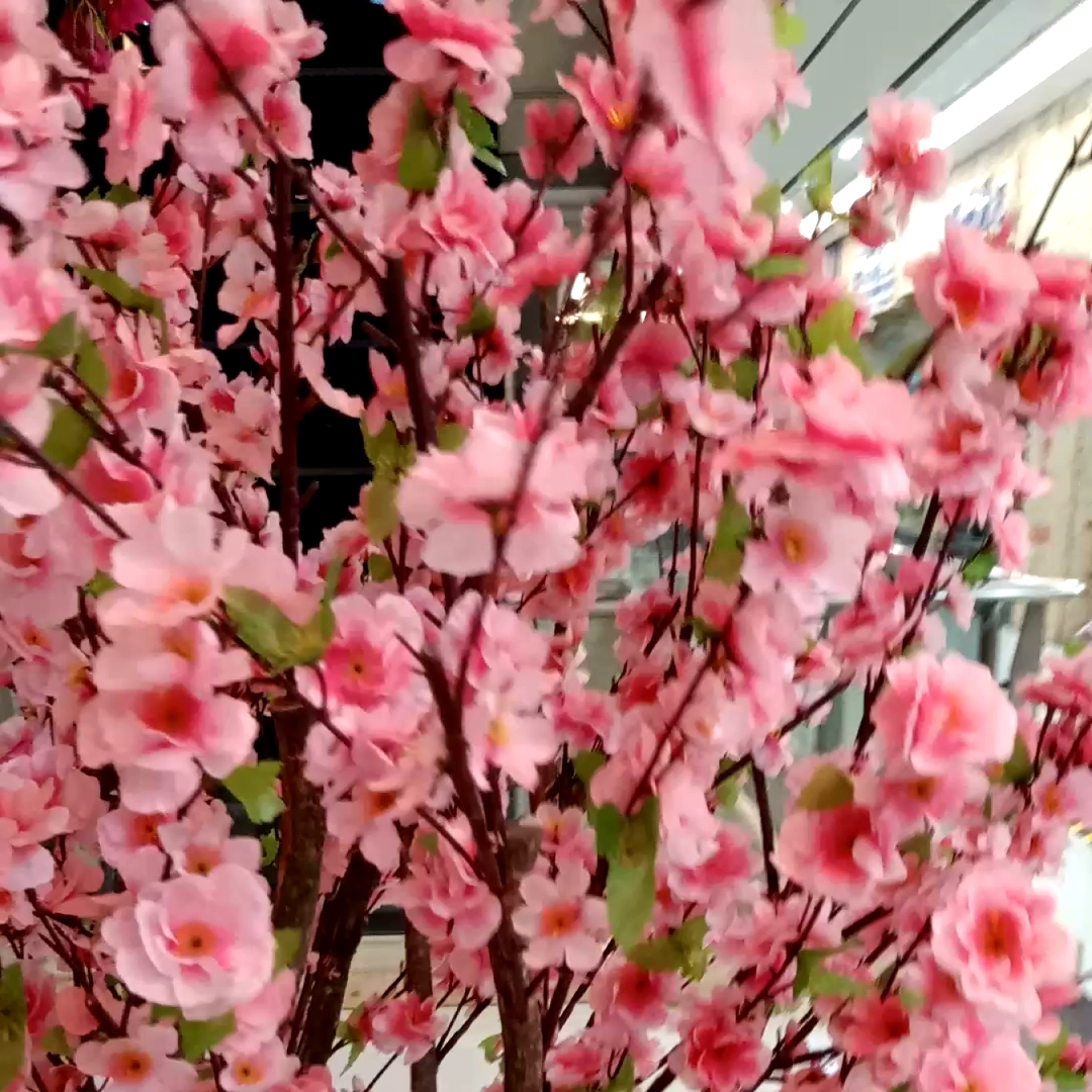 Shininglife Grosir Disesuaikan Dekorasi Buatan Cherry Blossom Pohon