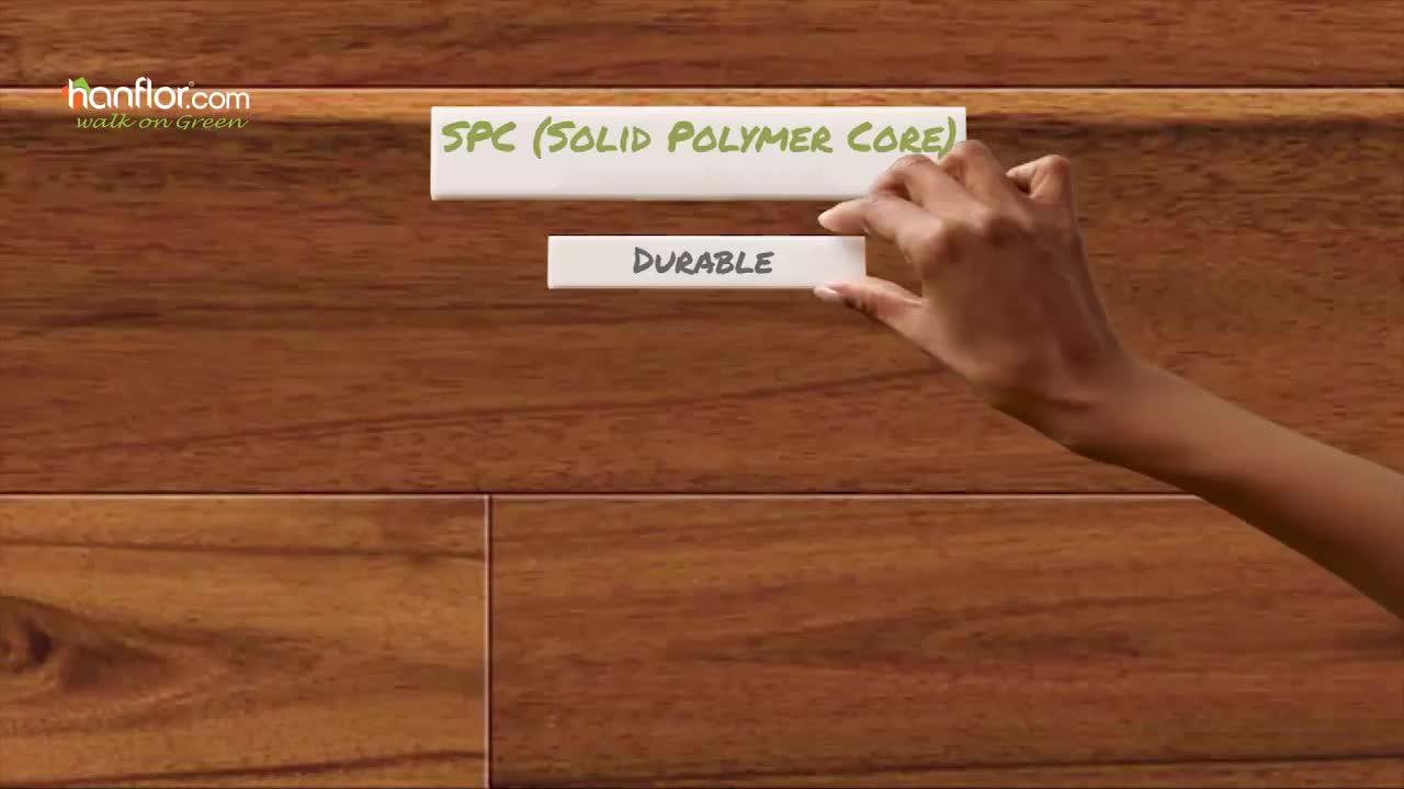New Innovation Good Quality Rigid core SPC flooring