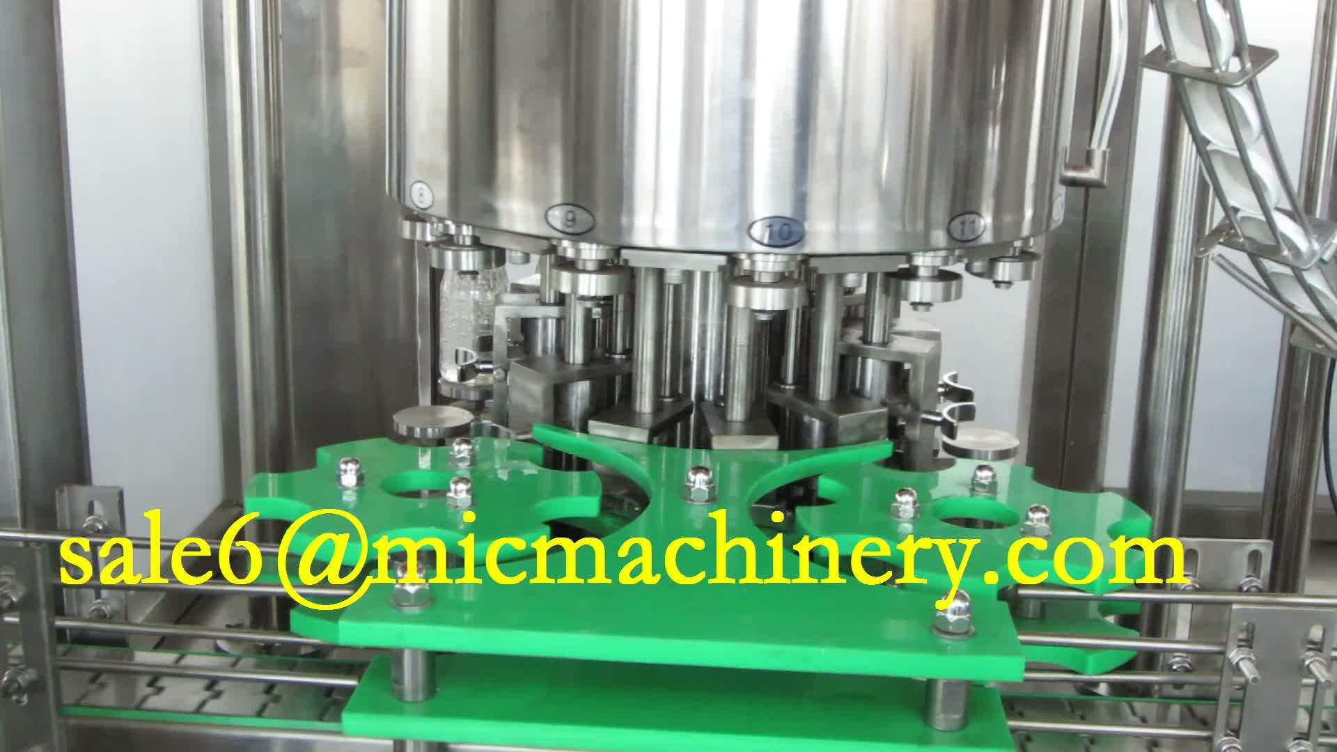 कांच की बोतल शराब वोदका शराब भरने की मशीन