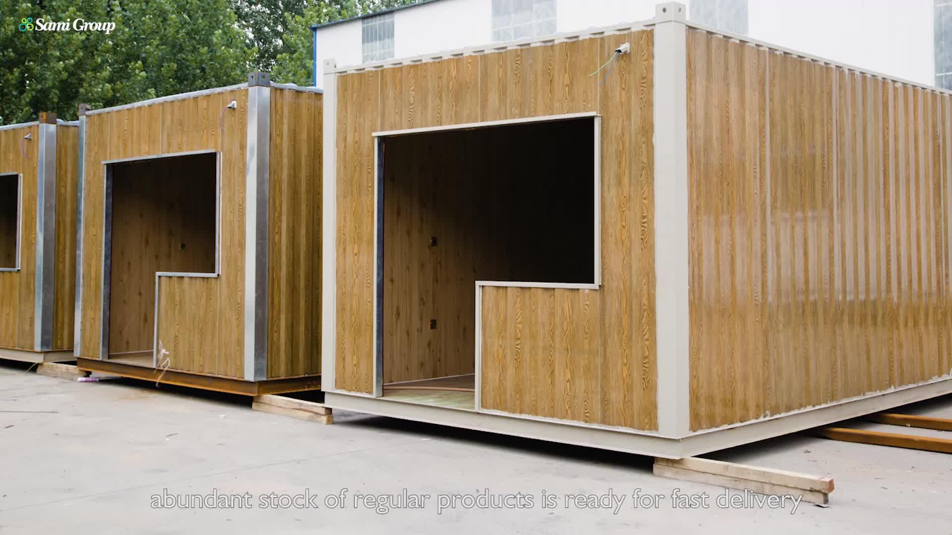 Moderne Goedkope Modulaire Tiny Stalen Gebouw Prefab Huis Woningen