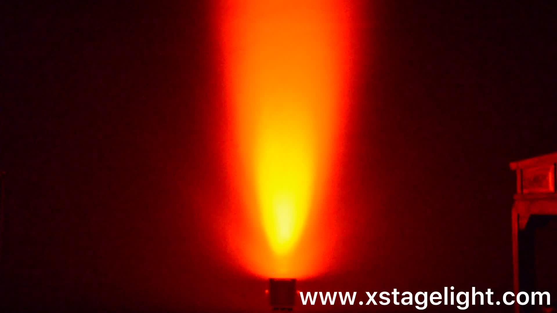 Свадебный свет 4x18 Вт RGBWAUV 6в1 par свет Открытый водонепроницаемый led par свет