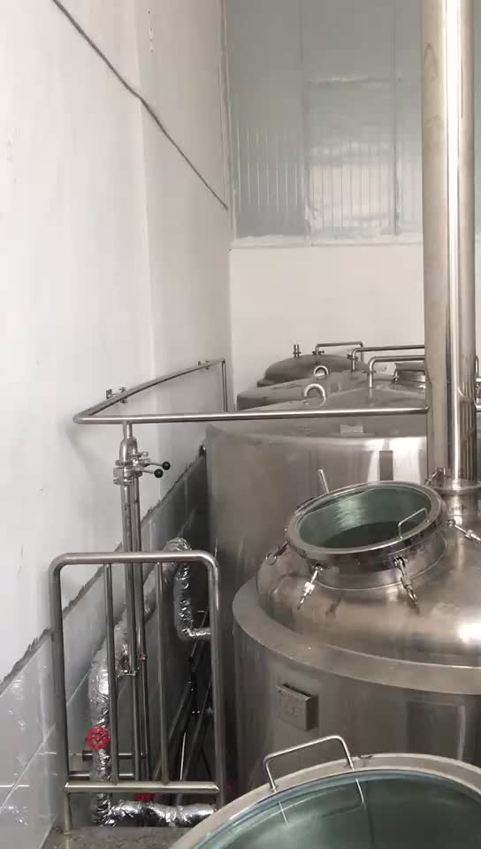 500L 1000L 2000L beer brewing equipment for brewery brewhouse