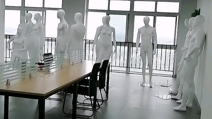 Menschliches Kleidung Ständer Kunststoff Volle Körper Requisiten Weibliche Mannequin