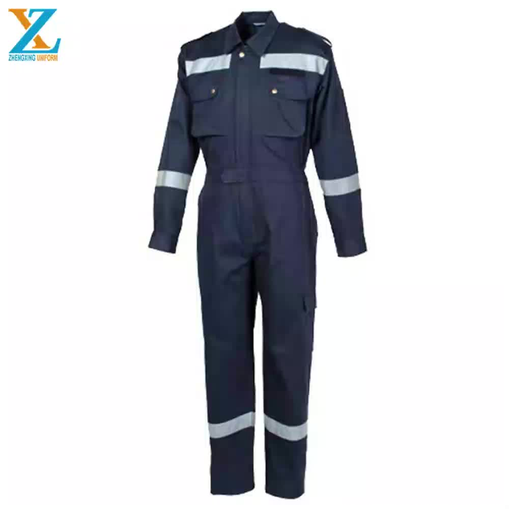 Wholesale Anti-static Hi Vis Reflective Coverall, Anti- Fire, Water-proof Men's Safty Coverall