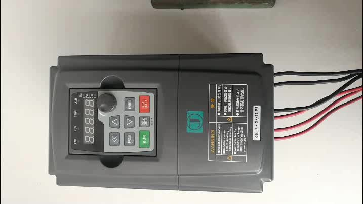 0.4kw 0.5hp vfd ac drive 220V/380V vector control AC variable frequency drive, 1 phase input 3 phase output vfd