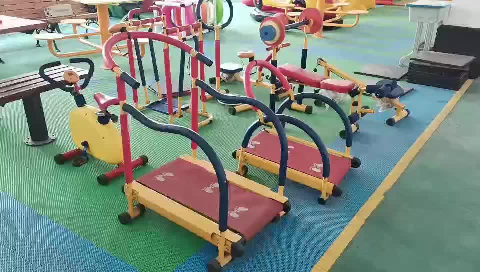 Peralatan Gym Kebugaran Anak, Set Lengkap Multifungsi Peralatan Kebugaran Dalam Ruangan Taman Anak-anak