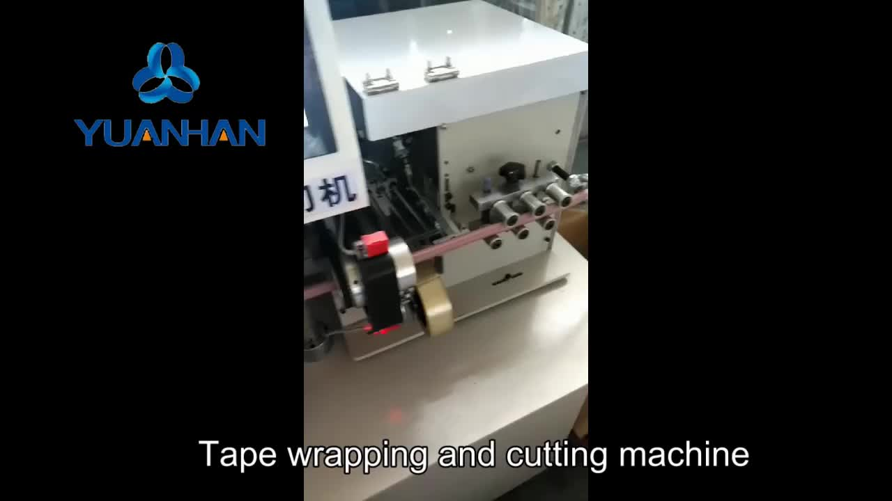 Lowest Price Car Alarm Wire Harness Taping Machine Automatic Cable Wrap Tape Hose Tube Cut And