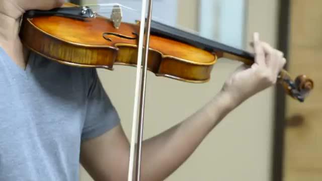 נחמד להבת מייפל מקצועי 4/4 מתקדם עתיק כינור מחרוזת מכשירי יד שמן חום כינורות עם מקרה רוזין וקשת