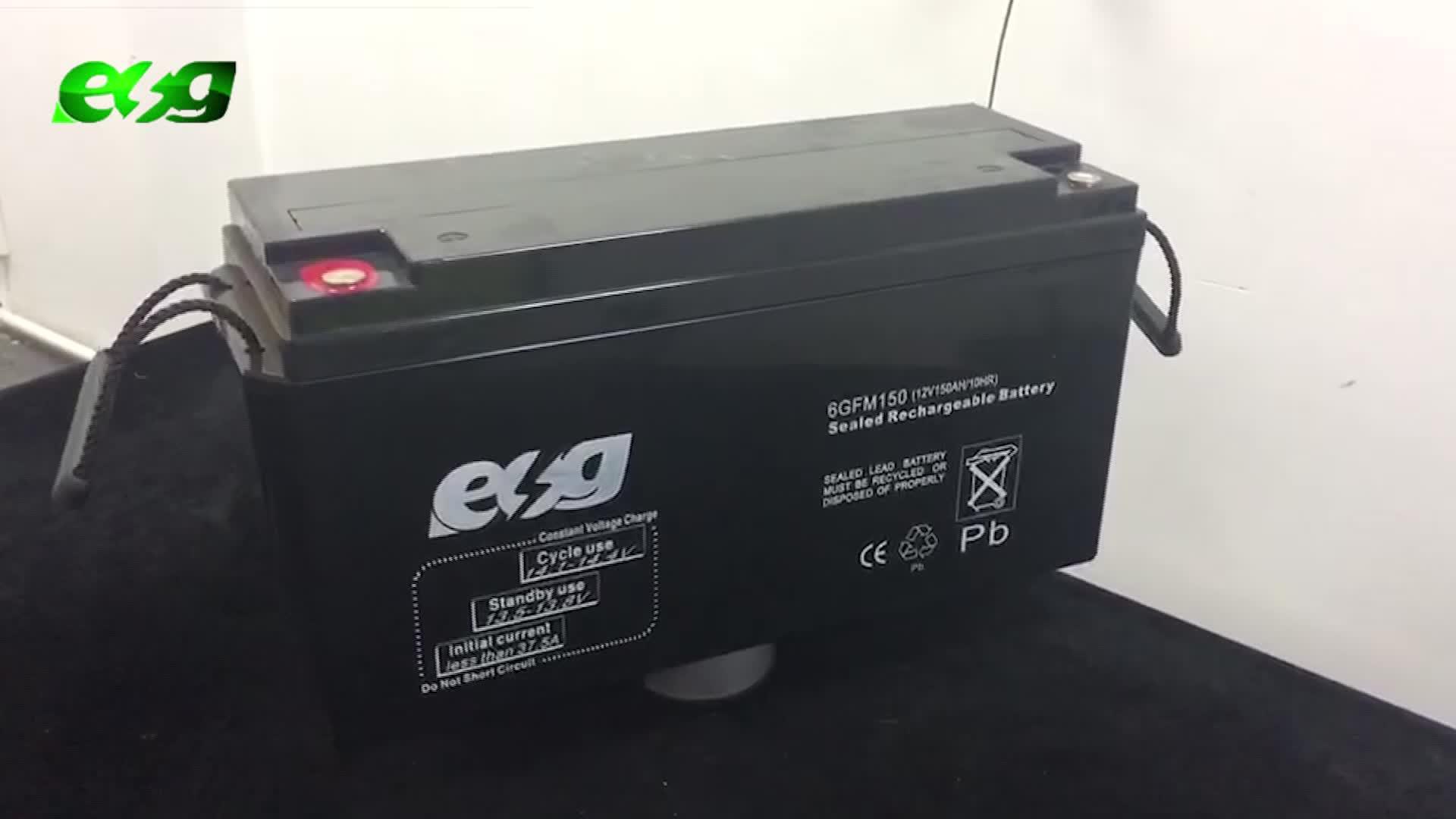 SMF VRLA 12v150ah Plein Gel batterie