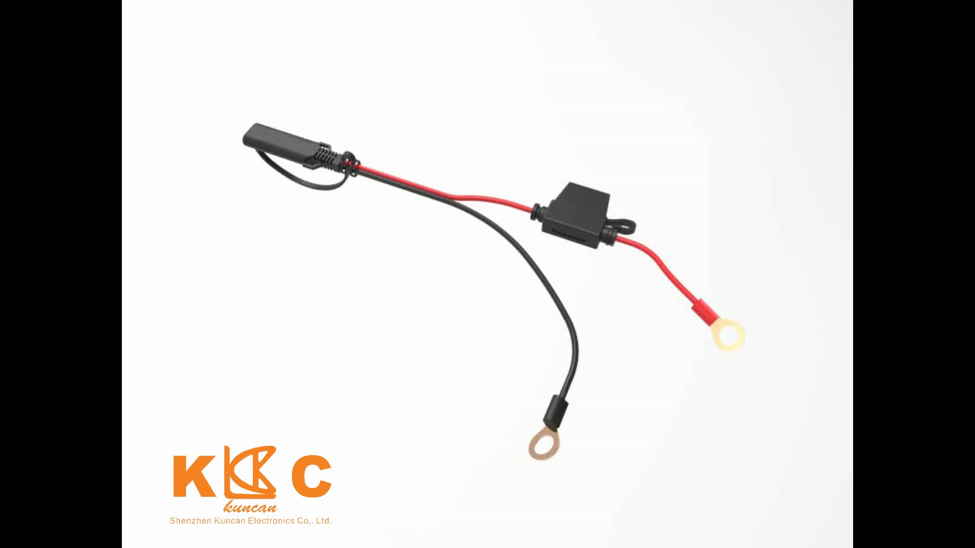 sae connector 7 5a power cable for car battery charging sae to ring terminal