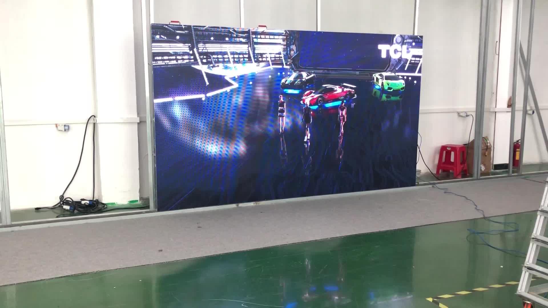 Preço p4 Full color conduziu o painel de exibição fixa ao ar livre tela led display eletrônico/led sign/led board