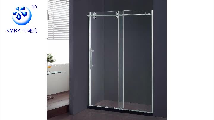 Sliding Shower Screen With Concealed Magnetic Seal (KD8013)