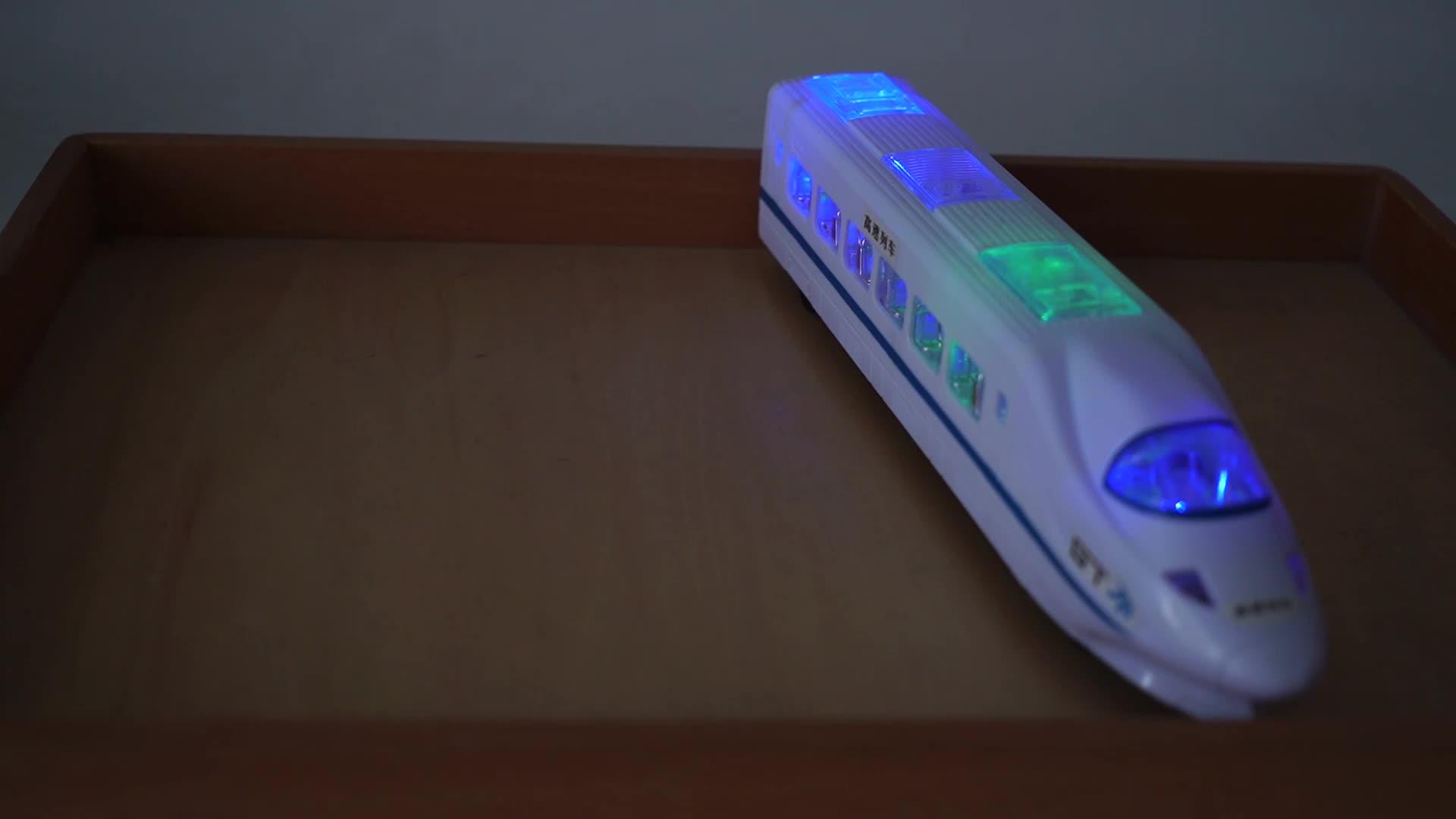 De los niños coche de juguete eléctrico tren de alta velocidad de juguete con luz