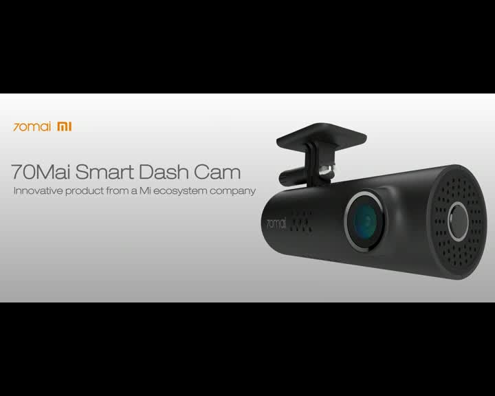 Original 200Mega Pixels Xiaomi 70MAI 1S Smart Mini Car DVR Dash Cam With APP Control