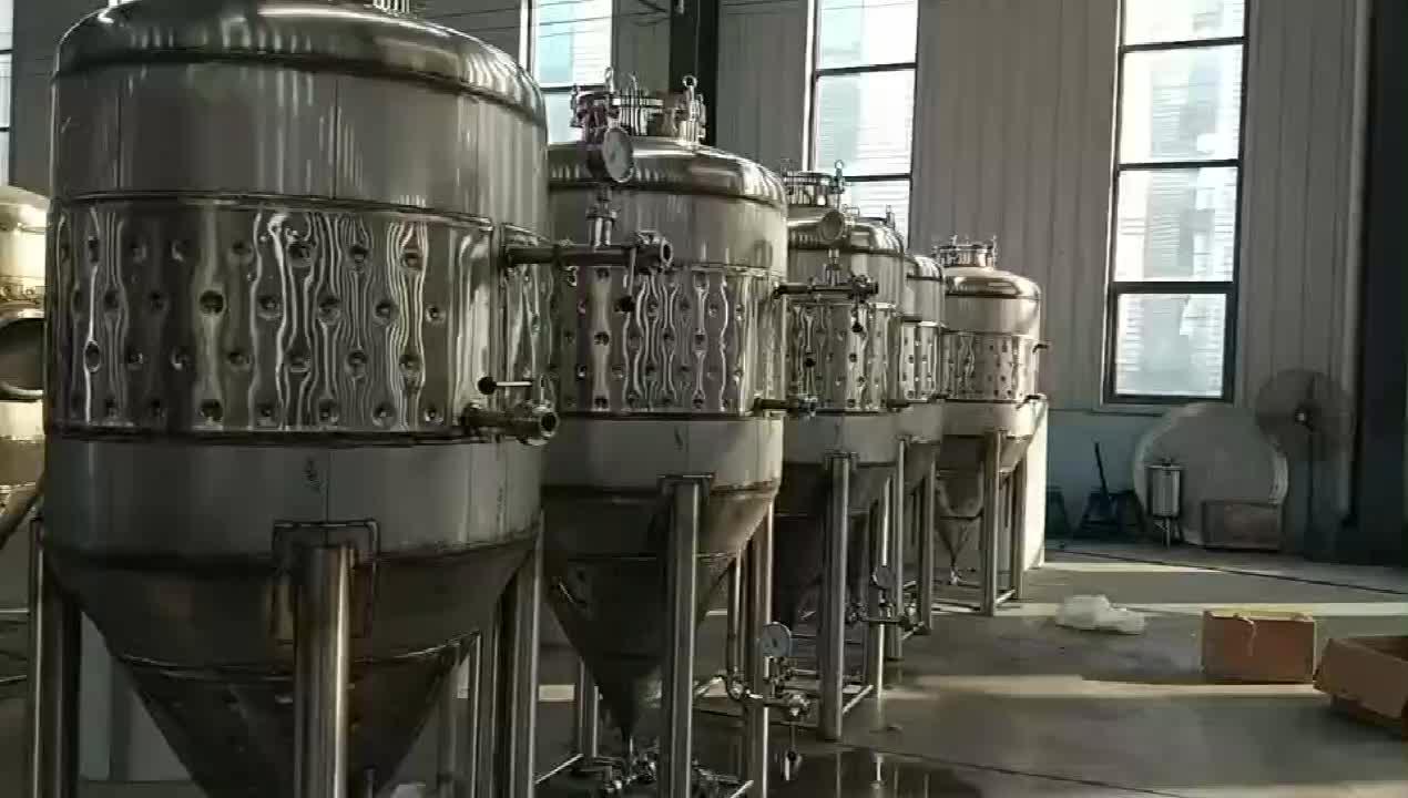 100l a 5000l tanque de fermentação para home craft beer brewing cervejaria