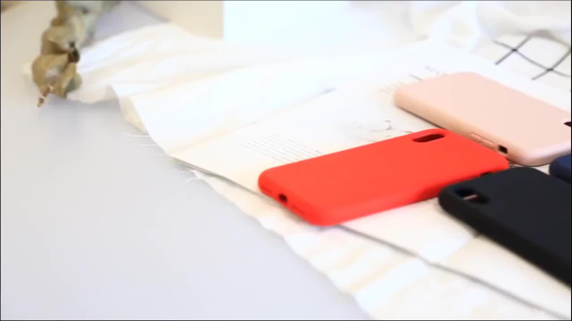 Funda de silicona líquida de microfibra con logotipo personalizado para funda de teléfono Xiaomi Mi 9T