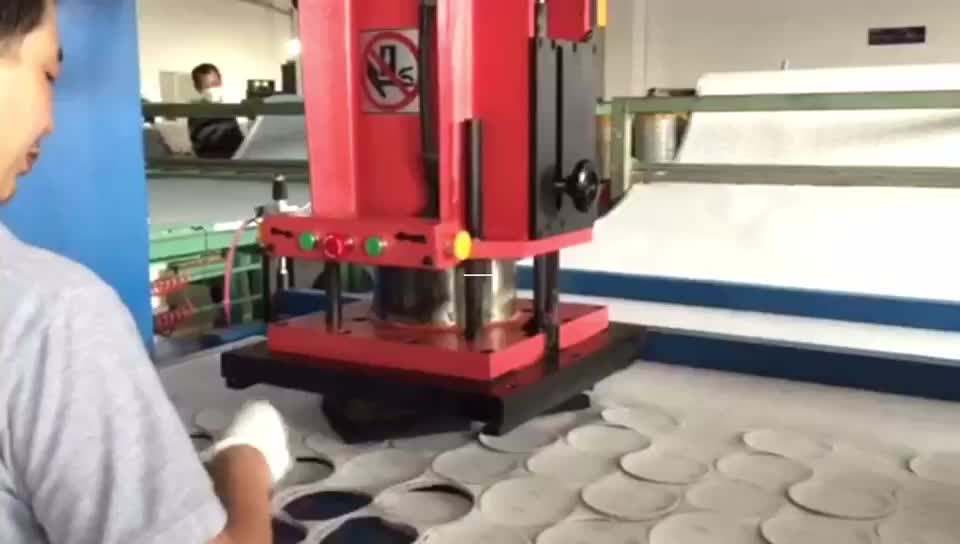 CNC traveling head sand paper cutting press