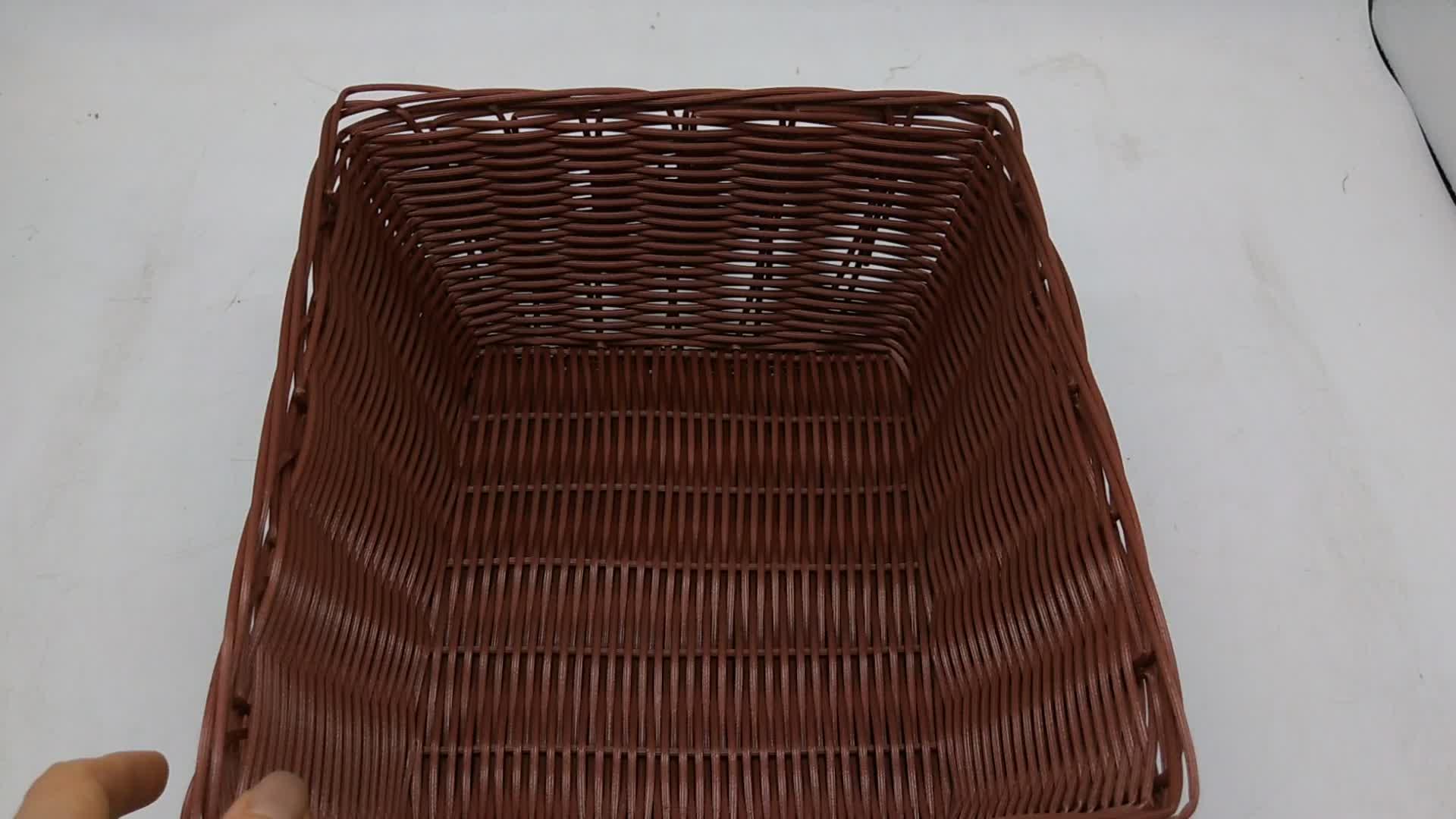 卸売洗えるポリ籐籐大ピクニック蓋