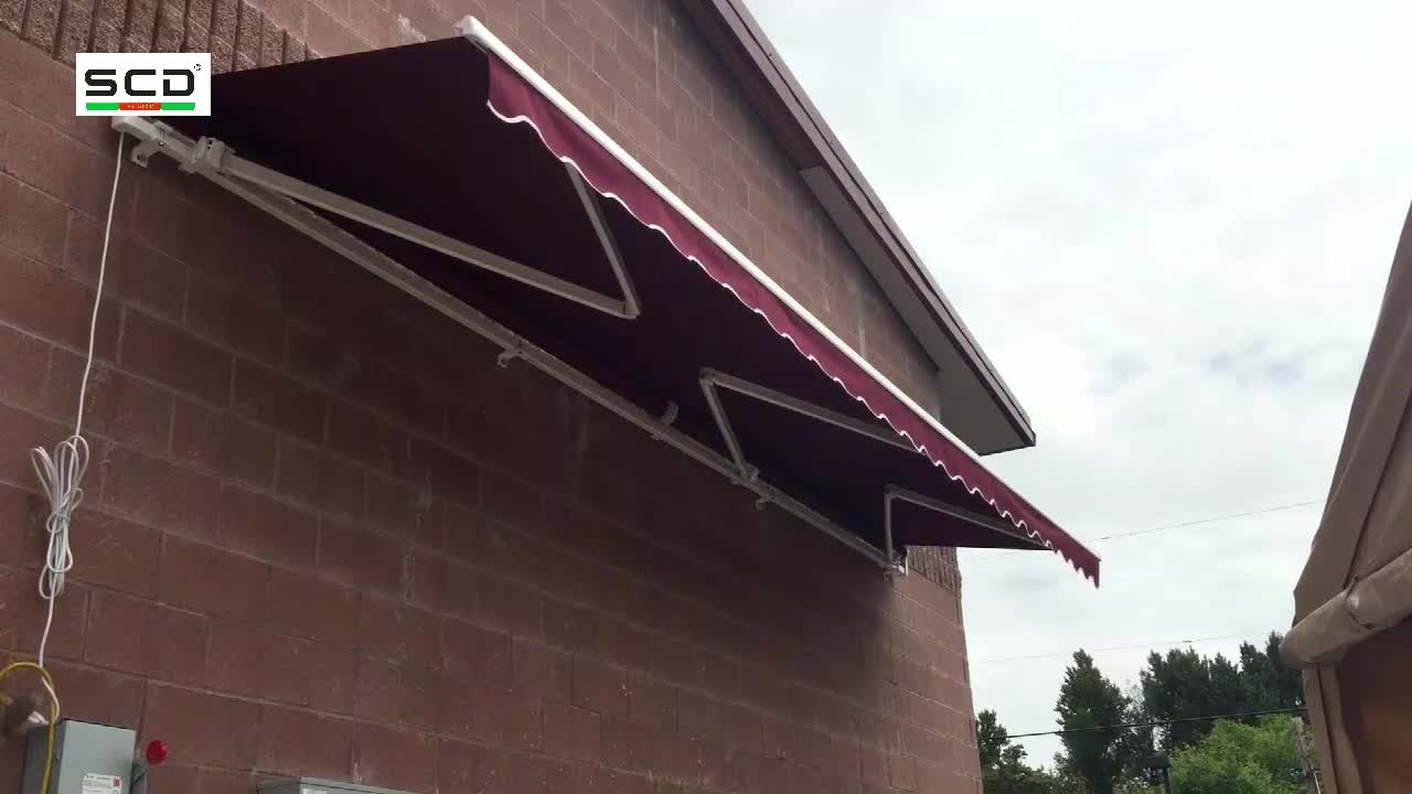 High Quality Low Price Durable Retractable Rain Shades Awning