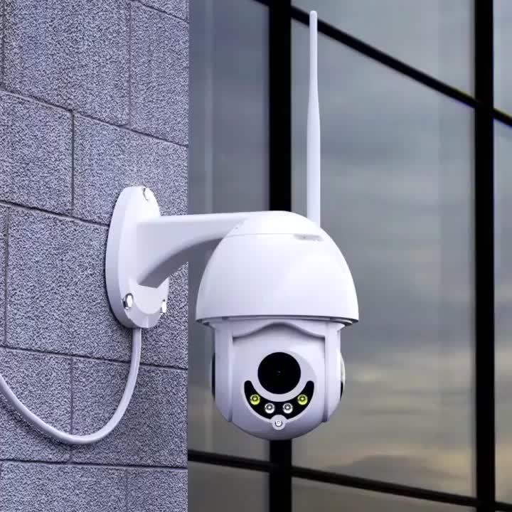Hot Sale Full HD Wifi Camara PTZ P2P Auto Tracking PTZ Wireless Wifi Video Dome Camera 1080P Two Way Audio PTZ Cameras Outdoor
