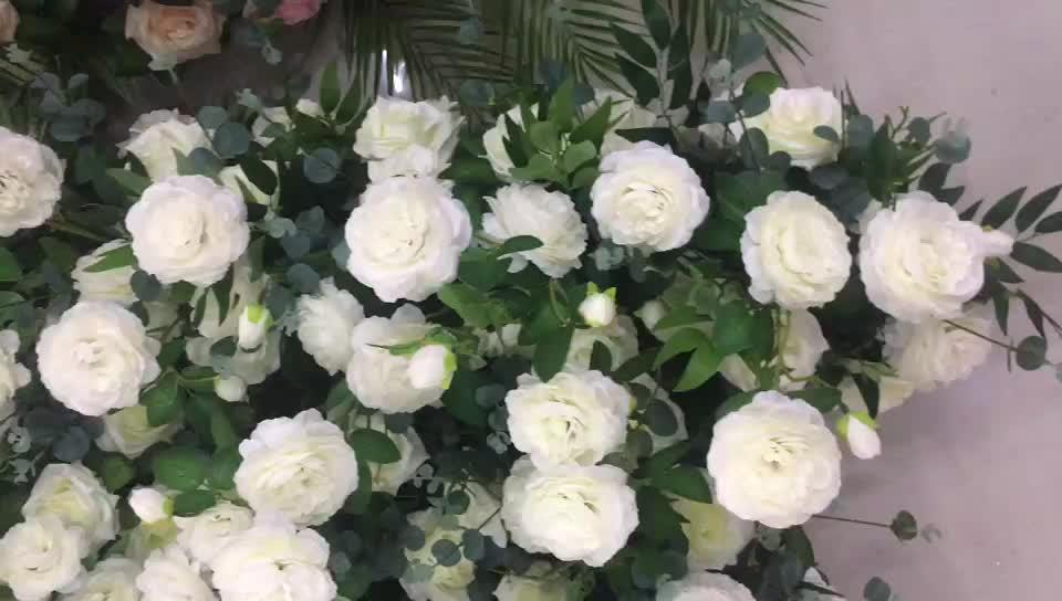 Flores artificiais da peônia do toque real direto da fábrica