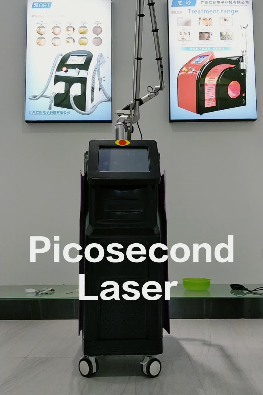 Picosecond タトゥー除去 Picoway レーザーそばかす除去美容機器